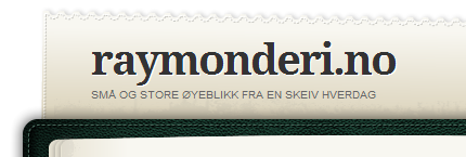Raymonds personlige blogg